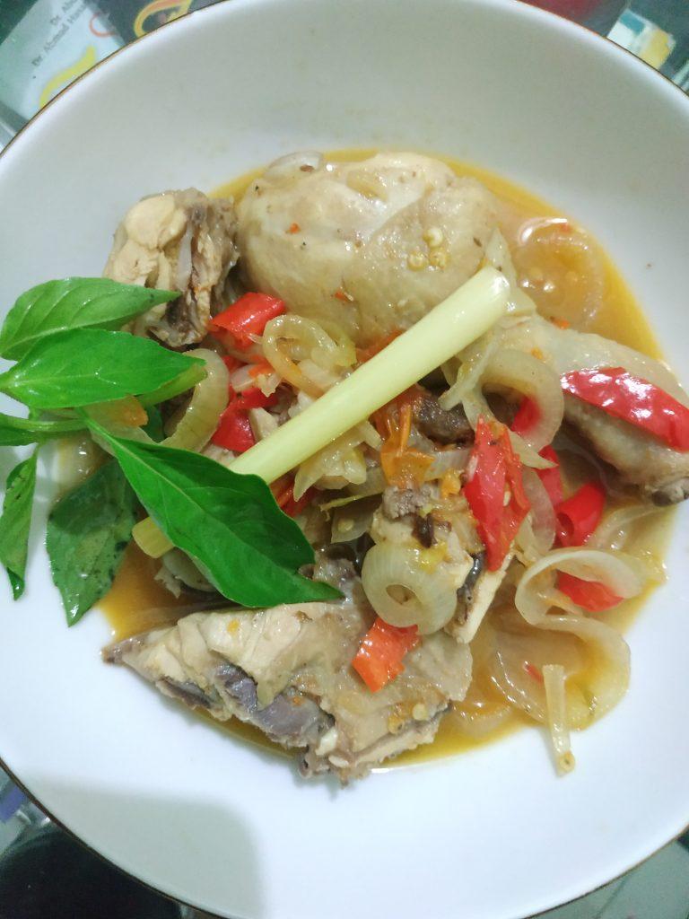 Hasil Recook Resep Garang Asam Ayam dari YummyApp
