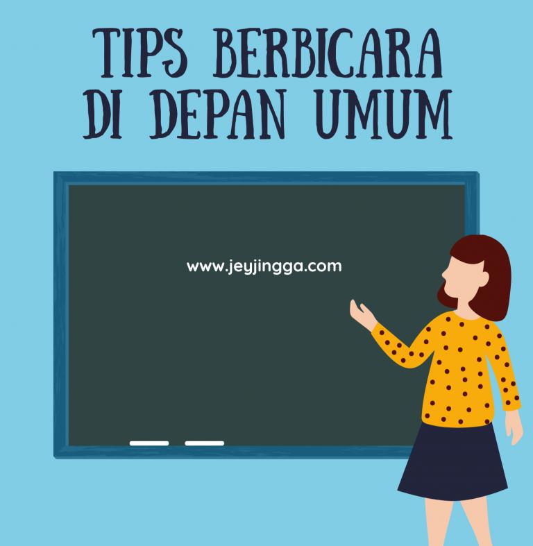 tips berbicara di depan umum