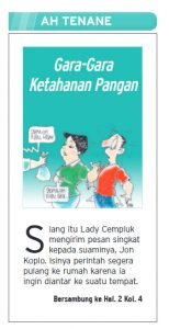 Solo Pos Ah Tenane Ketahanan Pangan