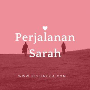 perjalanan sarah cinta ibrahim