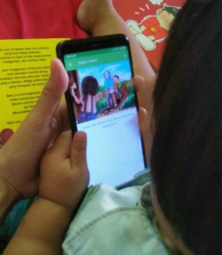 isya bersama aplikasi lets read