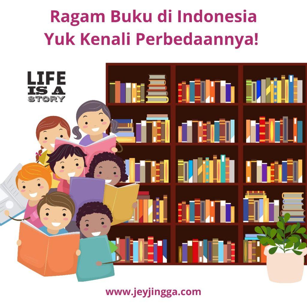 ragam buku di indonesia