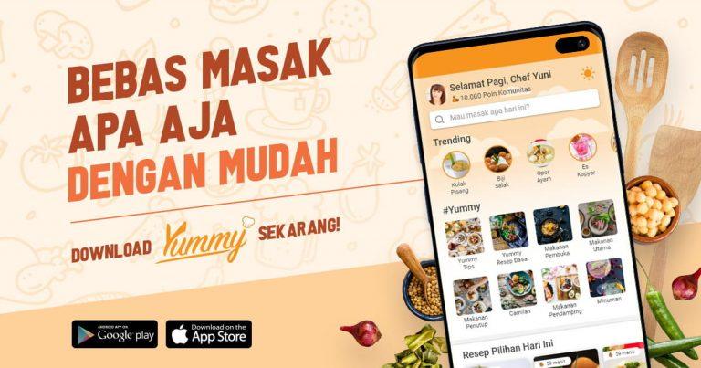 bebas masak apa saja dengan yummy app