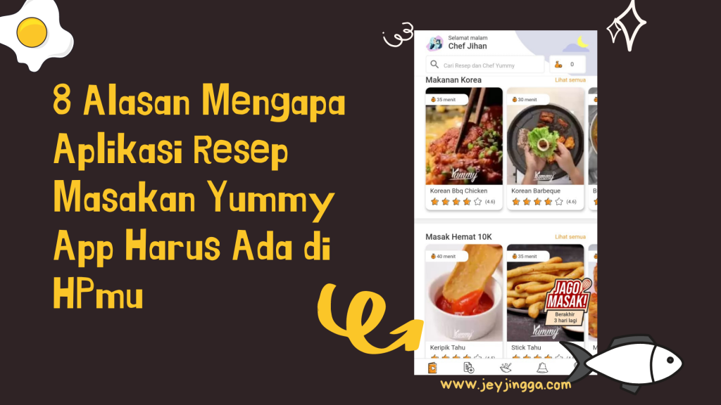 resep aplikasi masakan