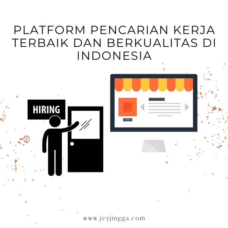 platform pencarian kerja