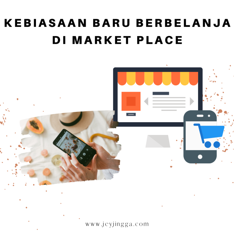 kebiasaan baru belanja di market place