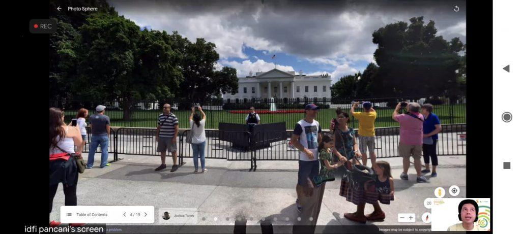 jalan-jalan virtual ke white house