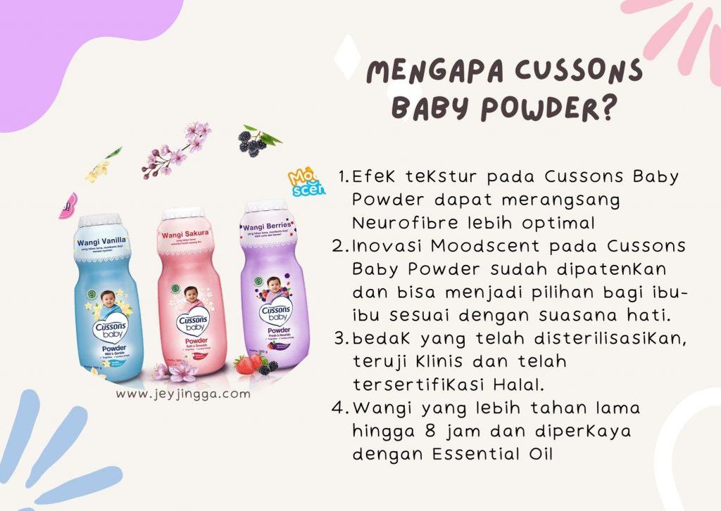 mengapa cussons baby powder