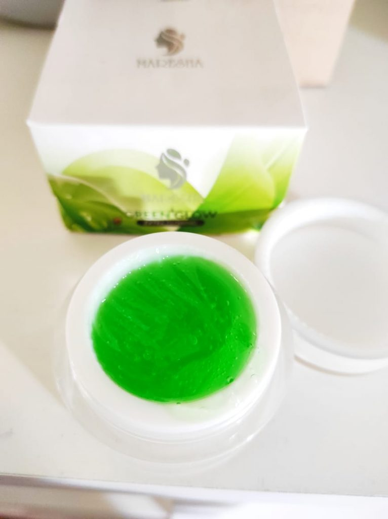 maresha green glow brightening
