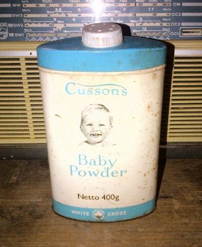 cussons baby powder edisi jadul
