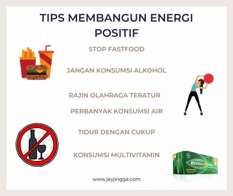 tips membangun energi positif