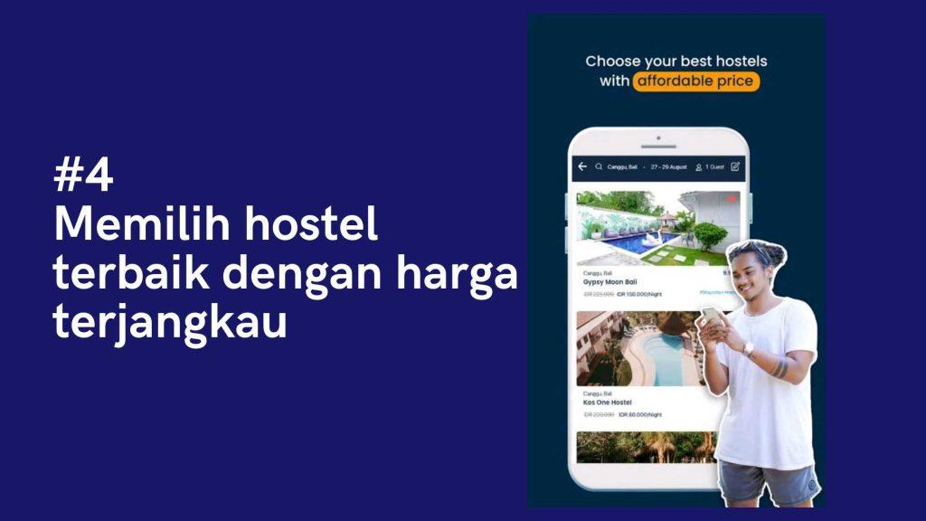 memilih hostels
