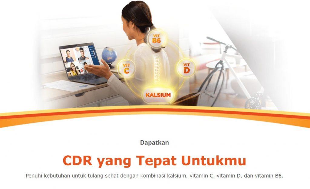 CDR untuk osteoporosis