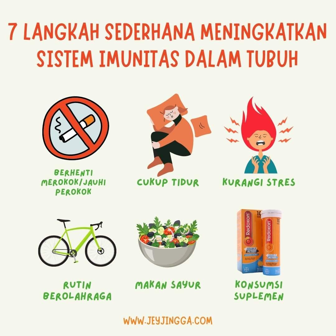 meningkatkan sistem imunitas tubuh