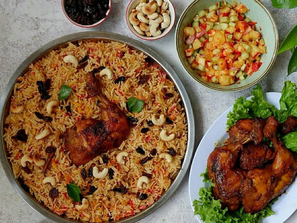 resep nasi biryani ayam