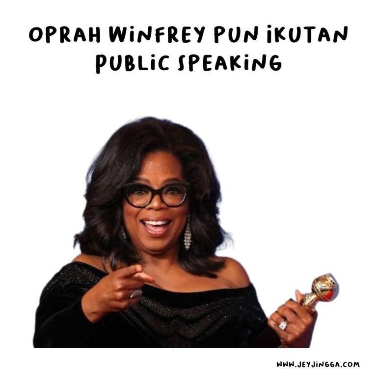 belajar public speaking lewat kursus online gratis
