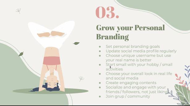 mengembangkan personal branding