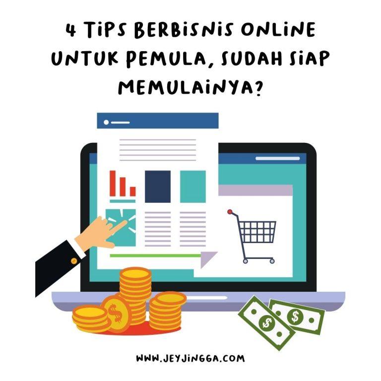 tips berbisnis online untuk pemula
