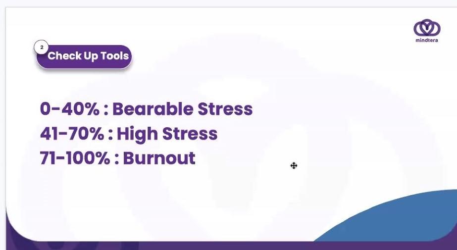 tingkat stress